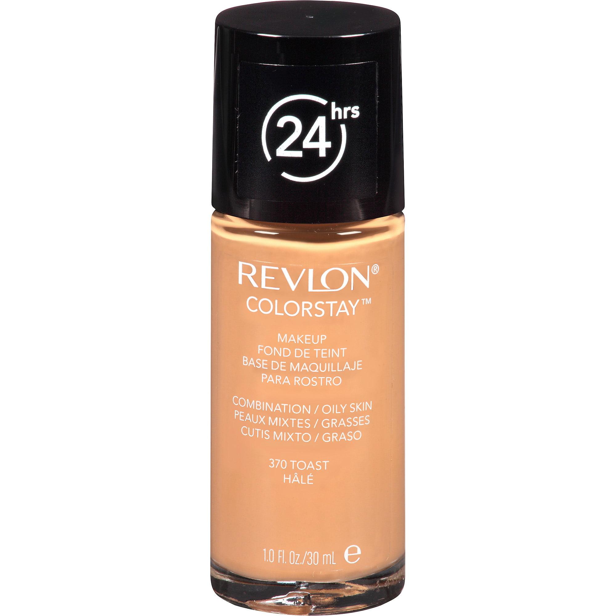 Revlon ColorStay Makeup for Combination/Oily Skin, 370 Toast, 1 fl oz