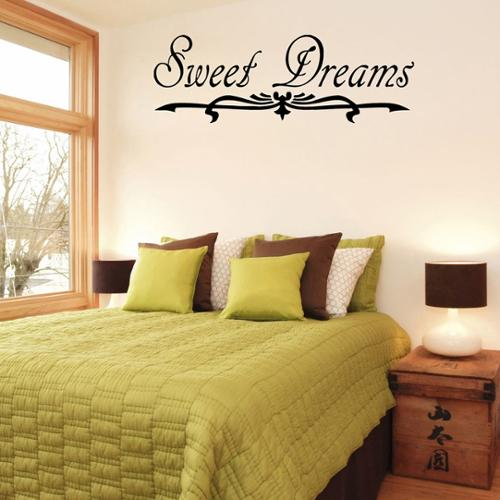 Vsgraphics llc 'Sweet Dreams' Vinyl Wall Decal
