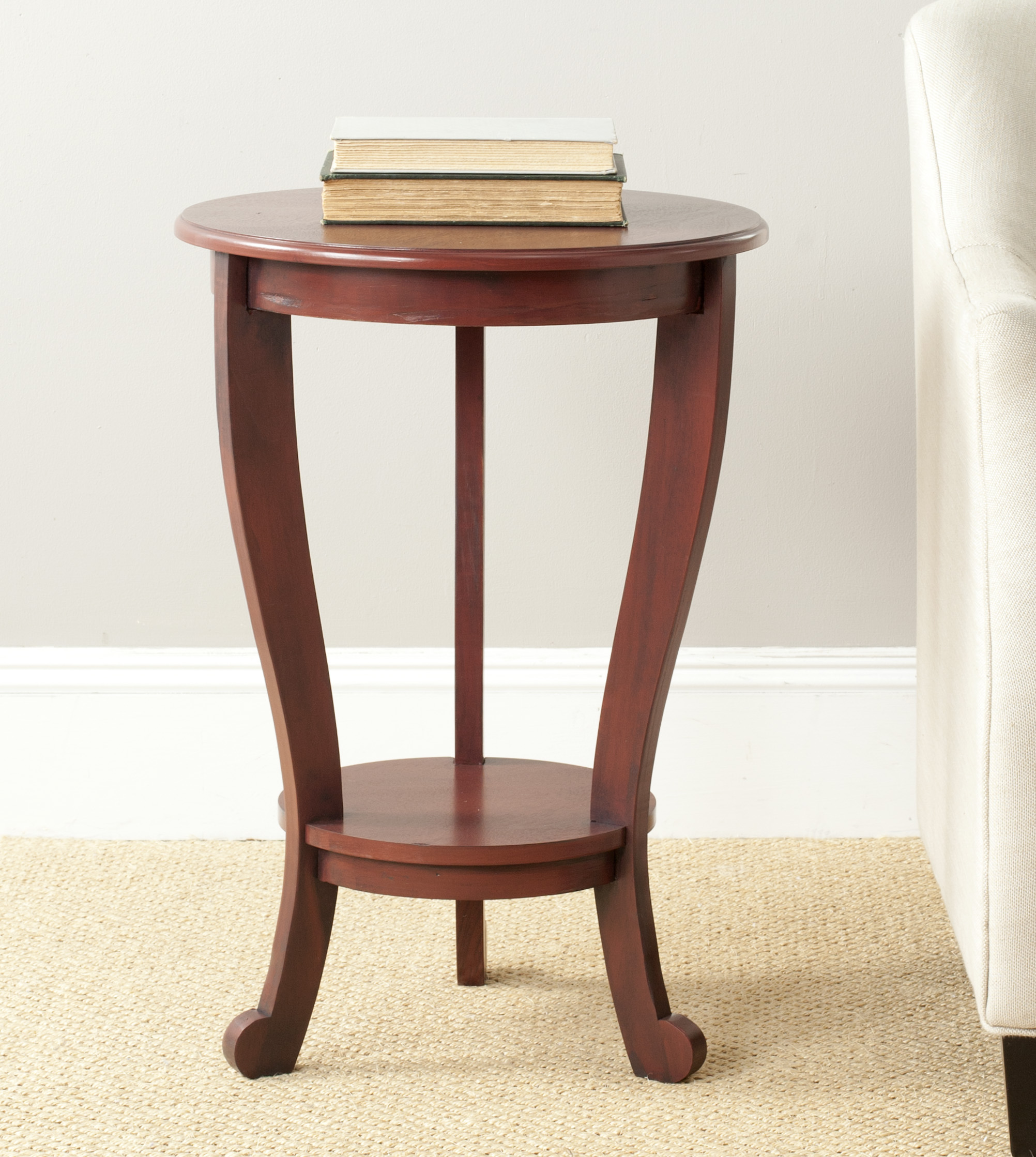Safavieh Mary Pedestal Side Table