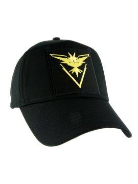 Team Instinct Yellow Pokemon Go Hat Baseball Cap Alternative Clothing