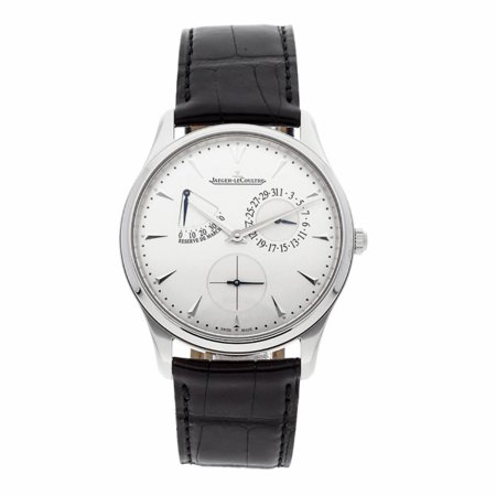 Pre-Owned Jaeger Lecoultre Master Ultra Thin Q1378420 Steel  Watch (Certified Authentic & Warranty)