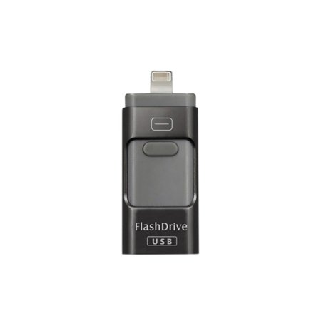 USB Flash Drive 64G, USB Memory Stick 64GB Jump Drive Thumb Drive 3.0 Flash Drive Compatible for iPhone/iPad/PC/Android Password/Touch ID Protected Flash Drive for