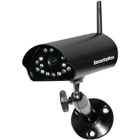 SecurityMan SM-816DT Add-On Digital Indoor/Outdoor Wireless Camera