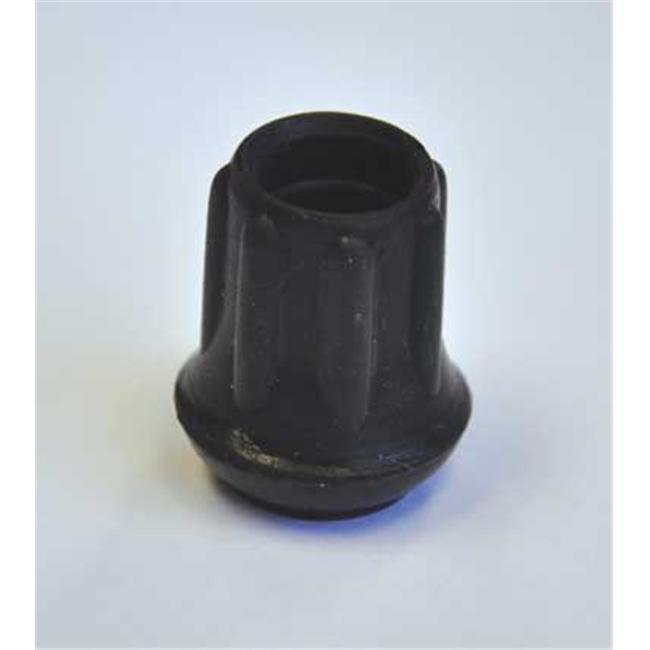 Complete Medical 1744A Cane Tips 5-8 17 - Black