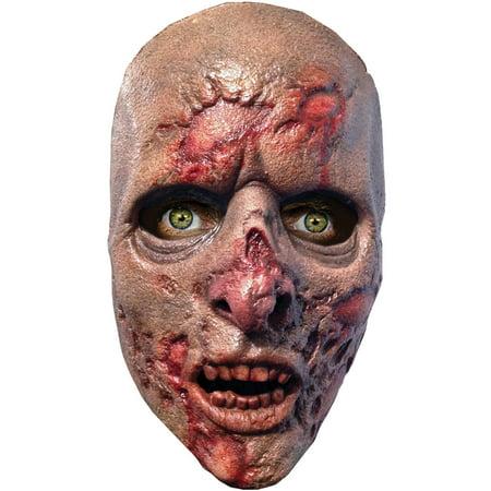 Walking Dead Prison Walker Latex Mask Adult Halloween - Mansfield Prison Halloween 2017