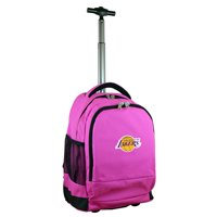 Los Angeles Lakers 19'' Premium Wheeled Backpack - Black - No Size