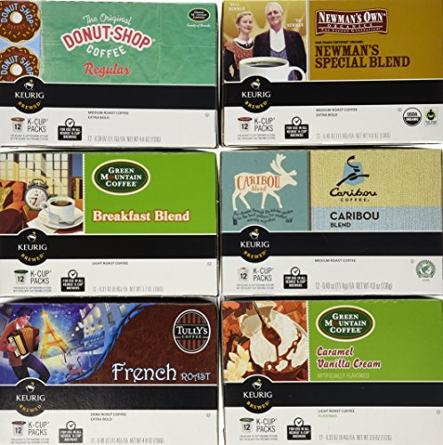 Green Mountain Variety Pack, Keurig K-Cups, 72 Count