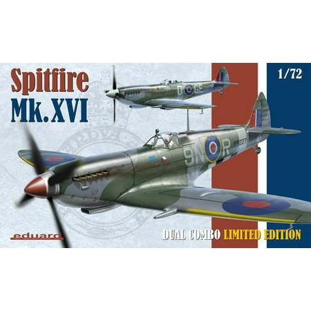 - 1/72 Spitfire Mk XVI Fighter Dual Combo (Ltd Edition Plastic Kit)
