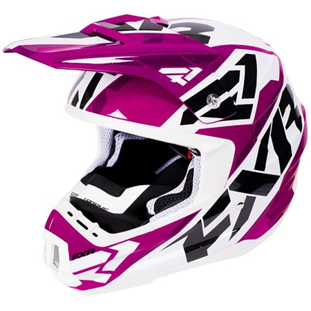 FXR Torque X Core Helmet W/ Electric Shield Affordable MX Snowmobile Racing