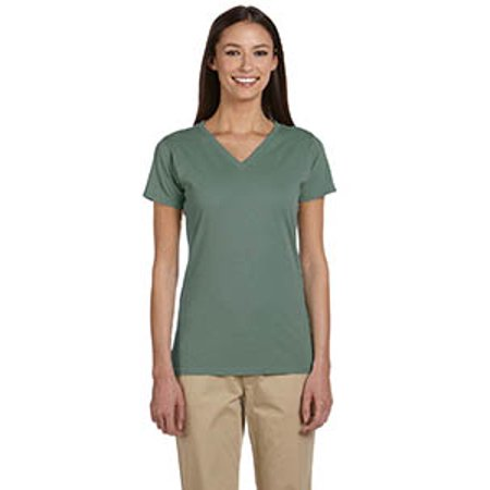 econscious Ladies' 4.4 oz., 100% Organic Cotton Short-Sleeve V-Neck T-Shirt