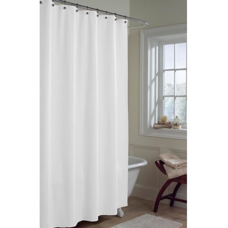 Maytex Microfiber Water Repellent Fabric Shower Curtain Or Liner