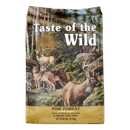 Taste of the Wild Pine Forest Grain-Free Dry Dog Food, 28 lb.