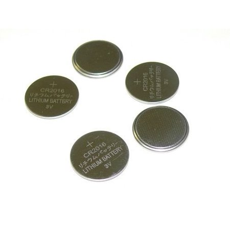 5X CR2016 CR 2016 DL2016 BR2016 3 Volt Lithium Button Cell Battery USA US Ship