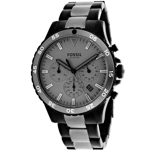 Fossil Men's Crewmaster Watch Quartz Mineral Crystal CH3073