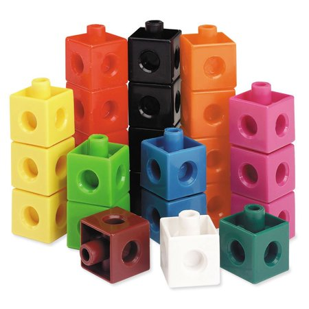 Learning Resources Snap Cubes, Educational Counting Toy, Set of 500 (Snap Cubes)