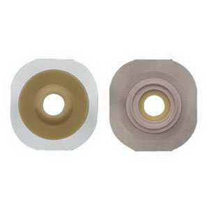 Fit Convex Flexwear Skin Barrier (New Image 2-Piece Precut Convex FlexWear (Standard Wear) Skin Barrier 1-1/8