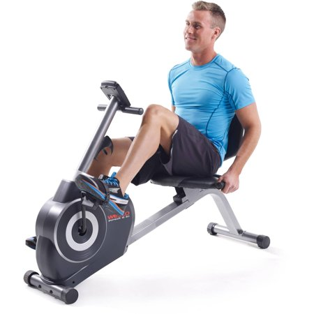 Weslo Pursuit G 3.1 Recumbent Exercise Bike with Tablet