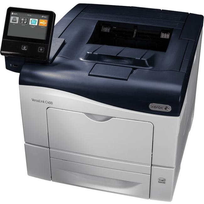 Xerox VersaLink C400 DNM Laser Printer Color 600 x 600 dpi Print Plain Paper Print Desktop (c400-dnm) by Xerox