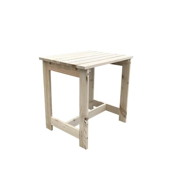 Diy Painting Wooden Coffee Side Table Patio End Shelf Garden Furniture Outdoor Indoor Walmart Com Walmart Com