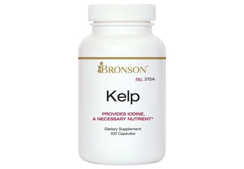 Bronson Kelp with Iodine, 100 Capsules by Bronson Laboratories