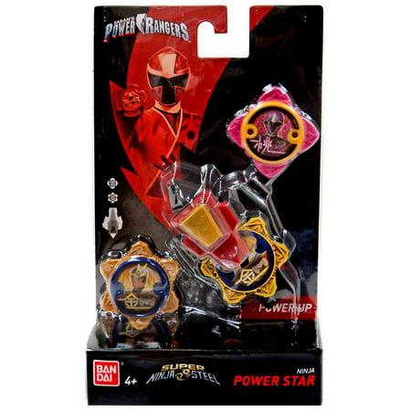 Power Rangers Power Up Pink & Gold Ninja Power Star 2-Pack with Launcher](Ninja Stars Paper)