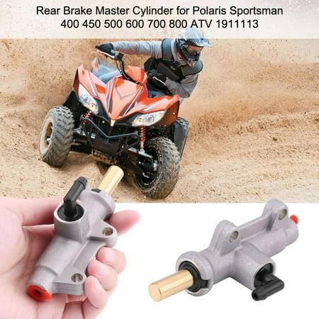 VBESTLIFE Master Cylinder,Rear Brake Master Cylinder for Polaris Sportsman 400 450 500 600 700 800 ATV 1911113 Brake Master Cylinder for Polaris
