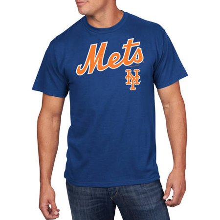 Majestic Scrappers Minor League T-shirt (Majestic MLB - Men's NY Mets Team Tee )