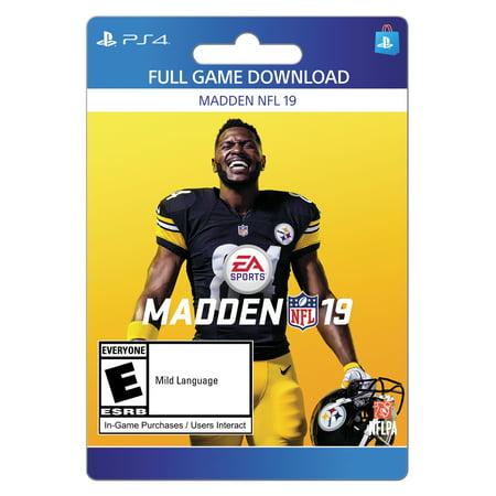 Madden NFL 19, Electronic Arts, PlayStation, [Digital Download]