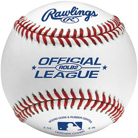 Rawlings ROLB2 Official League Baseball, 12 Pack