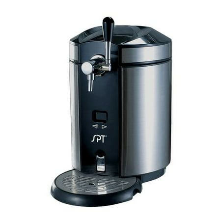 Sunpentown Mini Kegerator and Dispenser Stainless Steel,