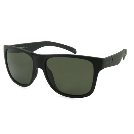 Smith Sunglasses Lowdown Xl/S / Frame: Matte Black Lens: Gray Green Polarized (IN)