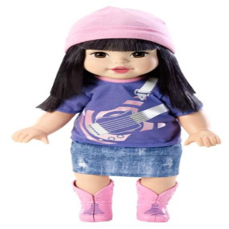 Mattel Little Mommy Sweet As Me Rock Me Baby Asian Doll