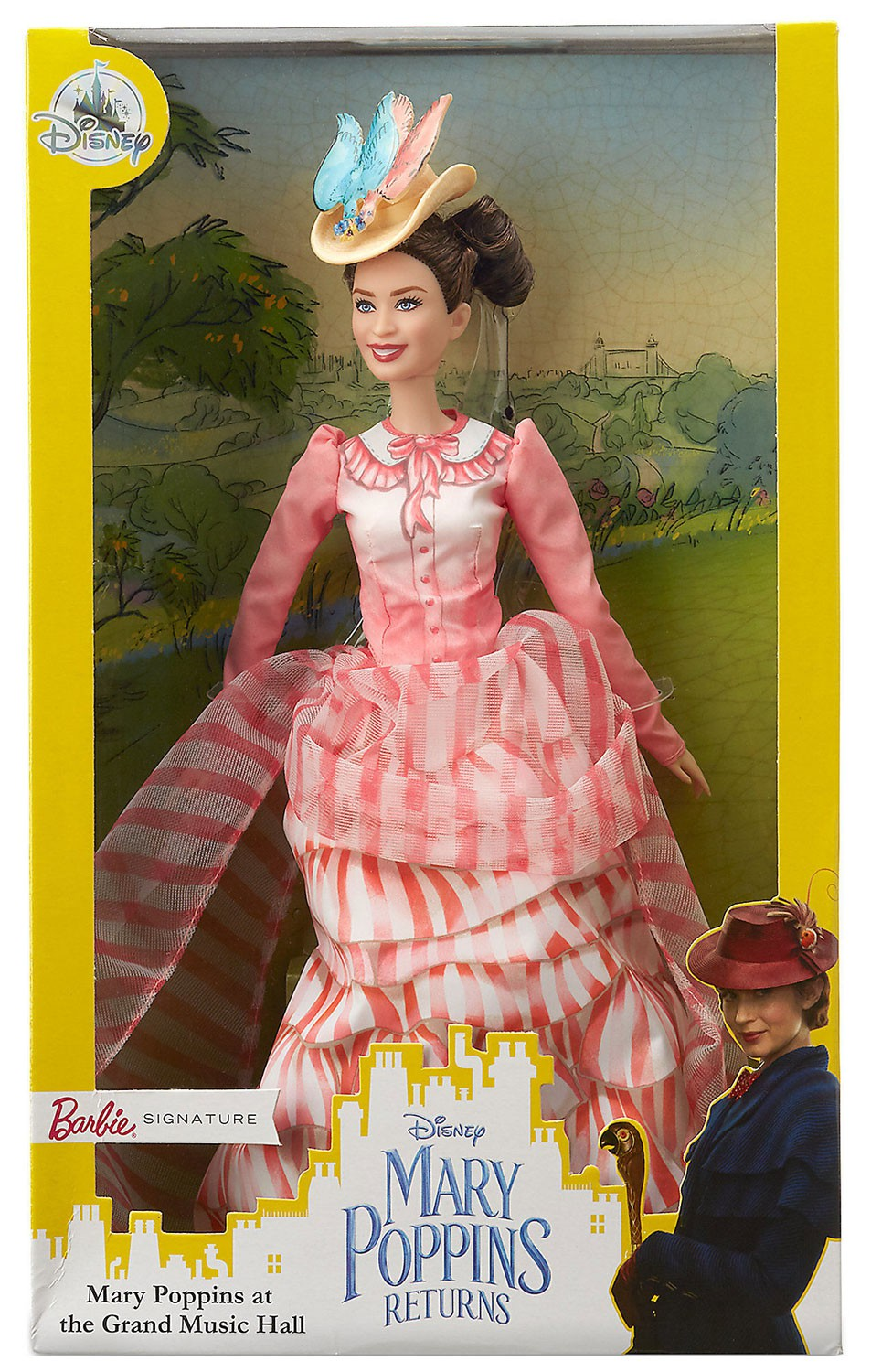 Disney Mary Poppins Returns Barbie Signature Doll New with Box by