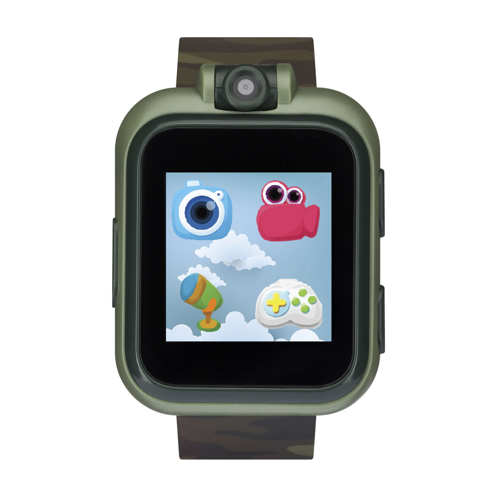 iTech Jr. Kids Smartwatch for Boys - Olive Camouflage