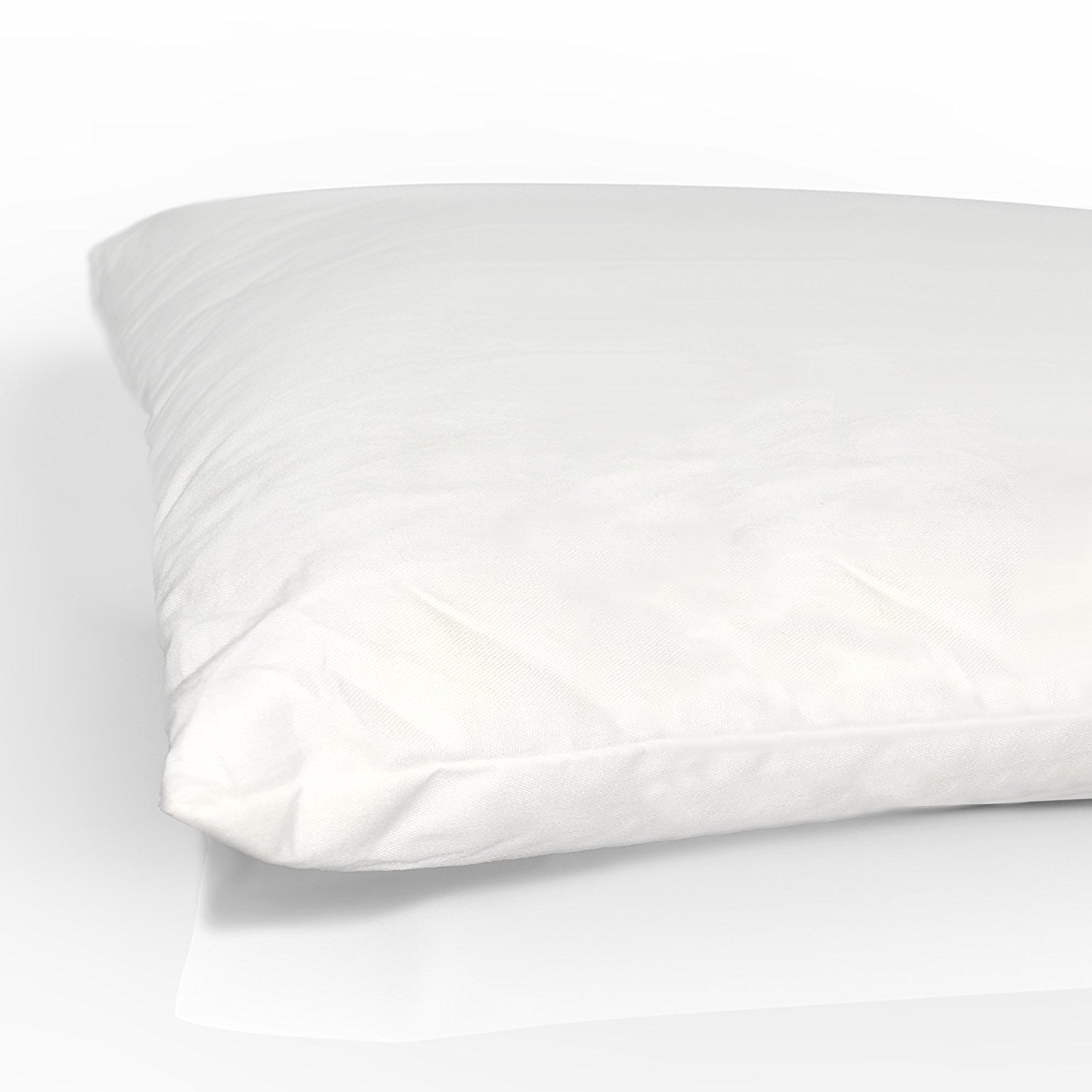[2-Pack] Equinox Baby Toddler Pillows 100% Cotton Cover 13' x 18' - by Equinox International