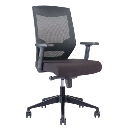 RightAngle FCATBBB Alpha Series Mesh Backrest Office Chair w/ Lumbar Support - Angle and Height Adjustable