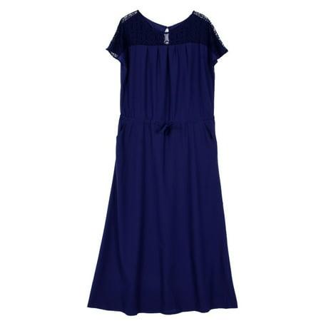 Plus Size Bridal Dresses (EFINNY Plus Size Lace Maxi Long Dress Cocktail Party Evening Gown Beach Dress )