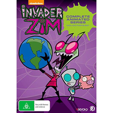 Invader Zim - Complete Invasion (Collector's Set) - 6-DVD Box Set ( Invader Zim - Complete Series 1 & 2 (46 Episodes) )](Rabbids Invasion Halloween Episode)