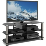 Sonax New York Metal and Glass TV Stand for TVs up to 50""