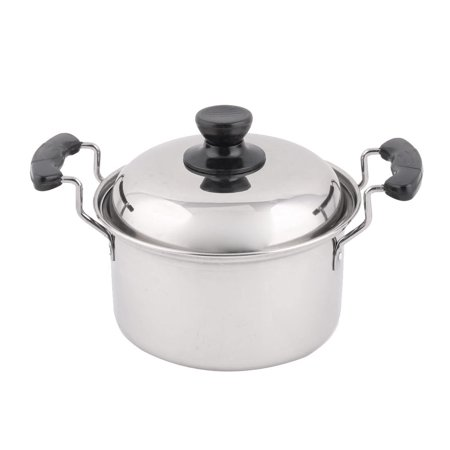 Restaurant Stainless Steel Cooking Soup Porrige Stockpot Pot 10.2 Inches - Stainless Steel Soup Pot