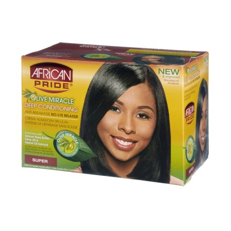 African Pride Miracle Deep Conditioning Relaxer System
