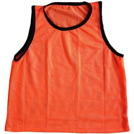 Adult Orange Scrimmage Training Vests Pinnies, Quantity