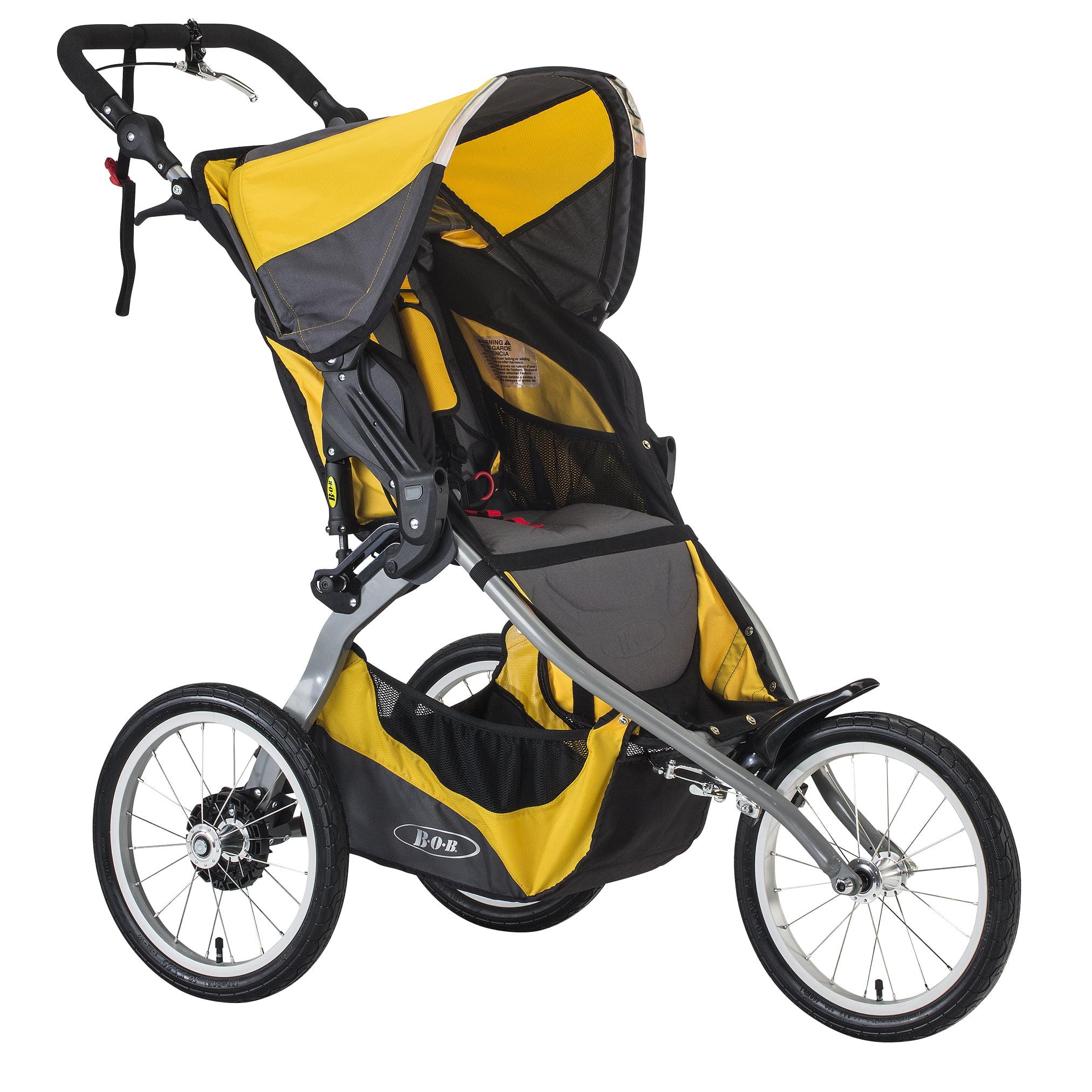 Britax BOB Ironman Single Jogging Stroller - Yellow