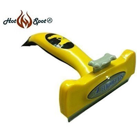 Pet Grooming Deshedding Tool by Hot Spot - Best Dog Shedding Brush for Short, Medium, & Long Hair to Reduce Shedding