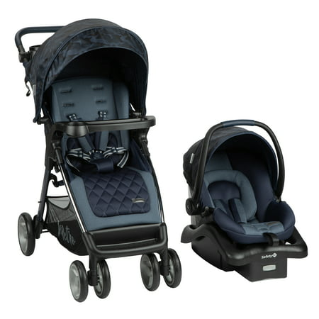 Monbebe Metro Travel System Stroller and Infant Car Seat - Navy Camo