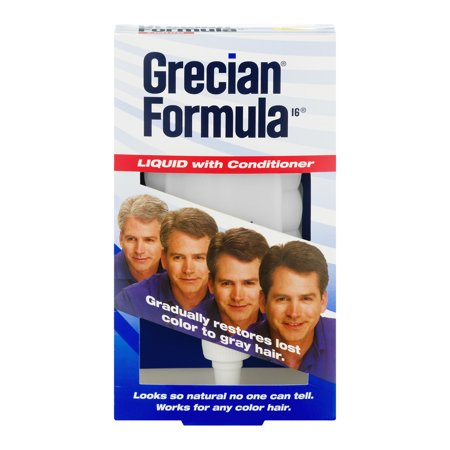 Grecian Plus Foam (Grecian Formula 16 Liquid with Conditioner, 8 fl oz)