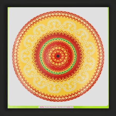 Lovely Flower Laptop Decal Sticker Vinyl Skin for Macbook 11'' 12'' 13'' 15'' 17''  - image 2 de 5