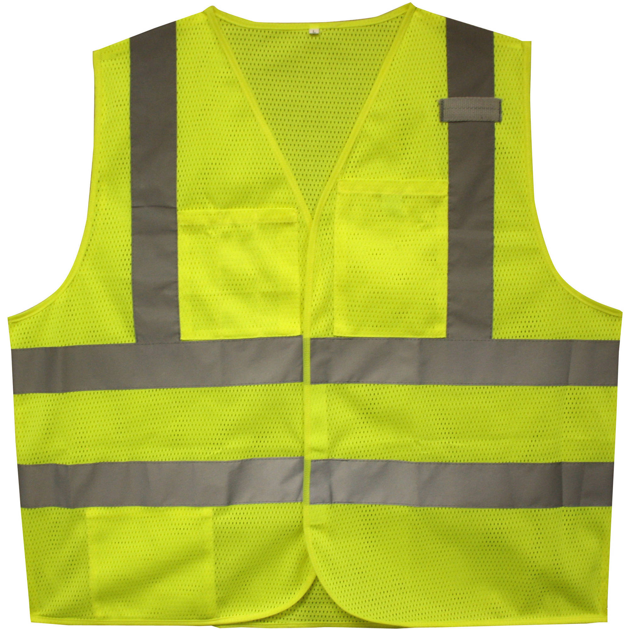 Cordova Flame-Resistant Class II High-Visibility Lime 2-Pocket Safety Vest