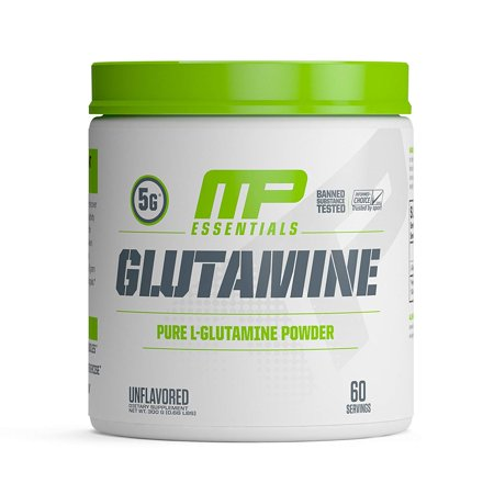 Glutamine Mineral Supplement, 300 Gram, Aids in muscle growth, recovery time and digestion By Muscle