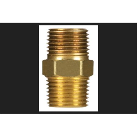 0.5 Solid Hex Plug Low Lead Brass